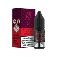 Pod Salt Mixed Berries Nikotinsalz Liquid 10ml